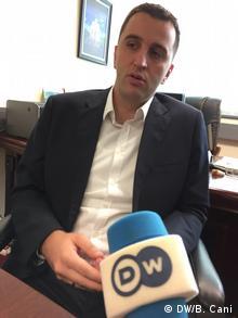Branimir Stojanovic stellvertr. Ministerpräsident Kosovo Prostina (DW/B. Cani)