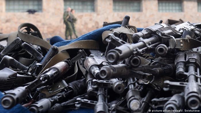 Пік потрапляння зброї в незаконний обіг припав в Україні на 2014-й - початок 2015 року