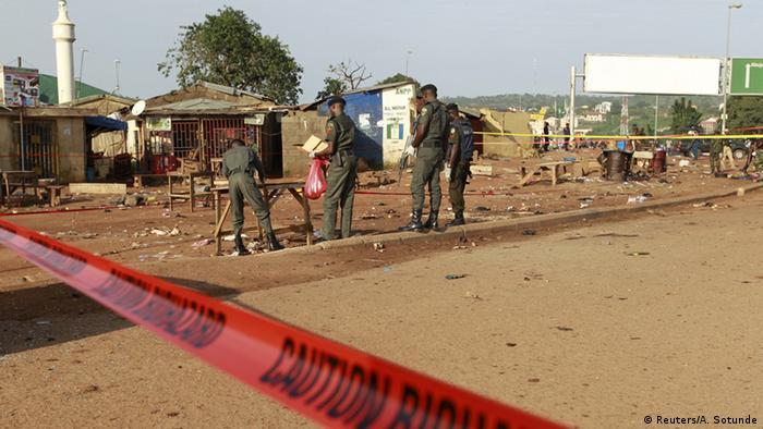 Bomb attacks near Nigeria's Abuja leave several dead: officials
