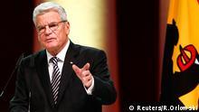 Joachim Gauck Rede Tag der Deutschen Einheit Frankfurt am Main Deutschland