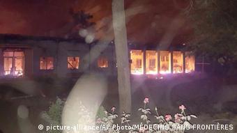 Traumazentrum von Ärzte ohne Grenzen in Kundus zerstört