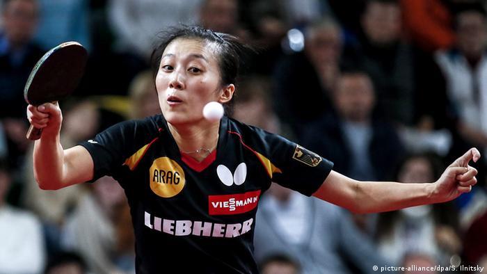 Tischtennis Eoropameisterschaft Ying Han