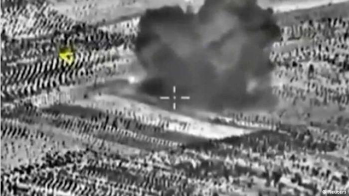 Syrien / Russischer Luftangriff (Reuters)