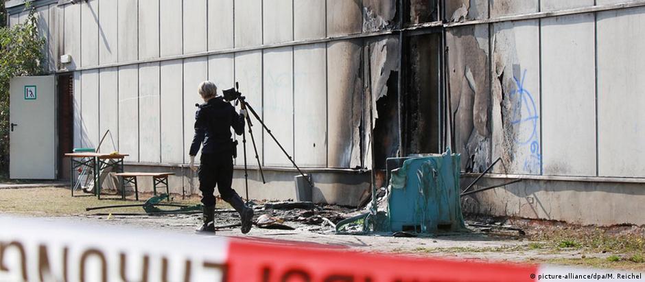 """Incêndio em Friemar foi """"covarde e assassino"""" diz governador da Turíngia"""