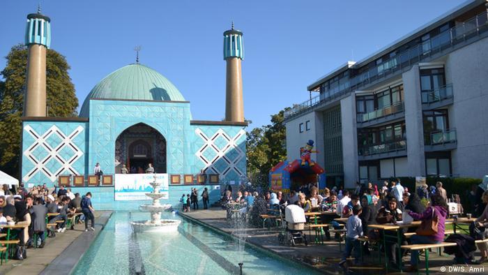 Imam-Ali-Moschee in Hamburg, 03.10.2015 (Foto: DW)