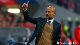 Pep Guardiola es un muy exitoso entrenador de clubes.
