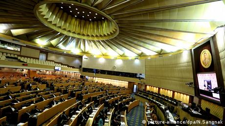 A general view of the Thai Parliament, Bangkok (picture-alliance/dpa/N.Sangnak)