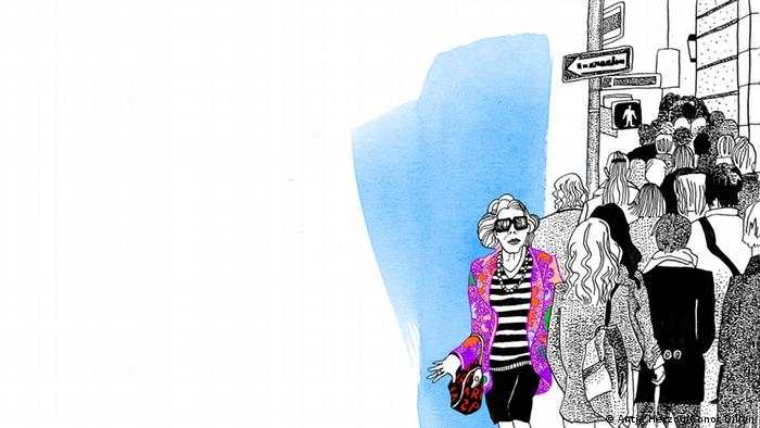 Kleider machen Leute Illustrationen Kultur DW exclusiv Projekt Sprichwörter