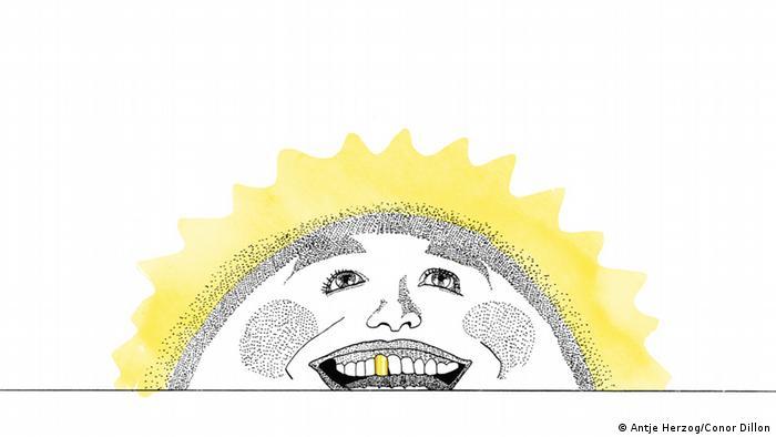 Morgenstund hat Gold im Mund Illustrationen Kultur DW exclusiv Projekt Sprichwörter