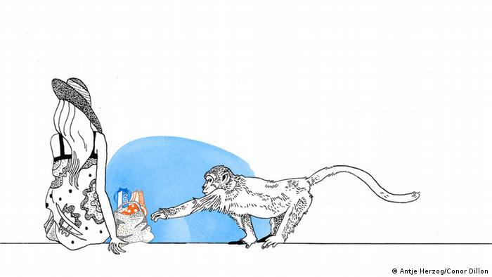 Gelegenheit macht Diebe Illustrationen Kultur DW exclusiv Projekt Sprichwörter