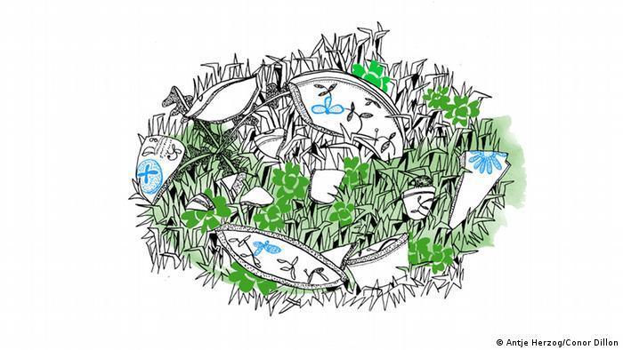 Scherben bringen Glück Illustrationen Kultur DW exclusiv Projekt Sprichwörter