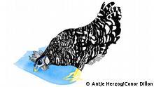 Auch ein blindes Huhn findet mal ein Korn Illustrationen Kultur DW exclusiv Projekt Sprichwörter