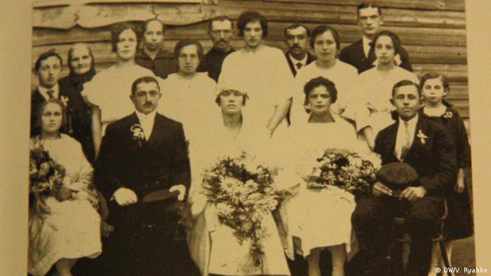 Свадебная фотография немецких переселенцев