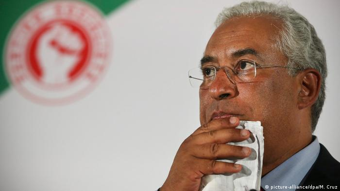 Portugal's Prime Minister and Socialist Party leader Antonio Costa