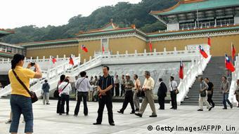 Taiwan chinesische Touristen