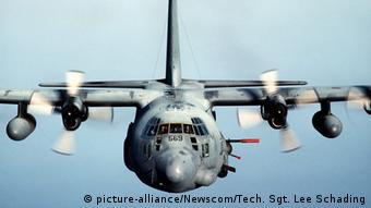 Kampfflugzeug AC-130