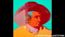 Ausstellung Dialog der Meisterwerke im Frankfurter Städel Museum Warhol