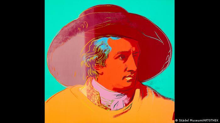 Одно из самых известных произведений Уорхола - Иоганн Вольфганг фон Гете (1982)