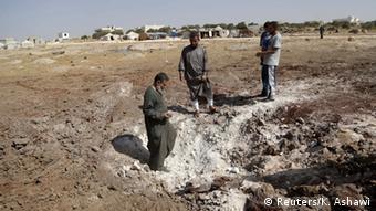Russland Syrien Luftschläge