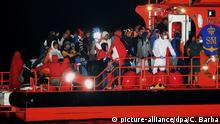 Spanien Ankunft Flüchtlinge aus Marokko