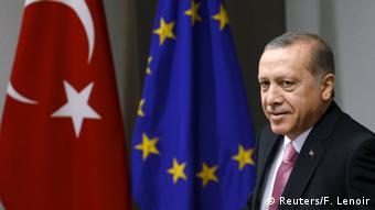 Brüssel Treffen mit türkischem Präsidenten Tayyip Erdogan