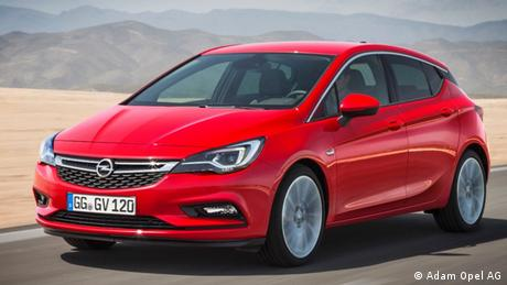 Opel Astra 2015 EINSCHRÄNKUNG