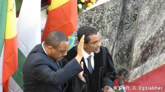 Äthiopien Parlament Hailemariam Desalegn