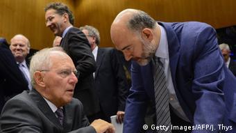 Σόιμπλε-Μοσκοβισί: διαφορετικές αντιλήψεις για την ευρωζώνη