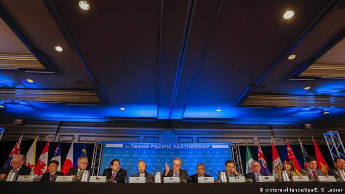 Transpazifische Partnerschaft Freihandelsabkommen TTP