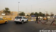 Irak Sicherheitskräfte Green Zone in Bagdad