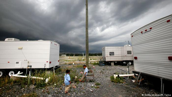 Trailer park in Louisiana. (Photo: Mario Tama/Getty Images)