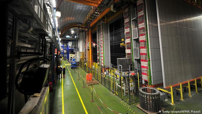 Neutrinodetektor in Gran Sasso