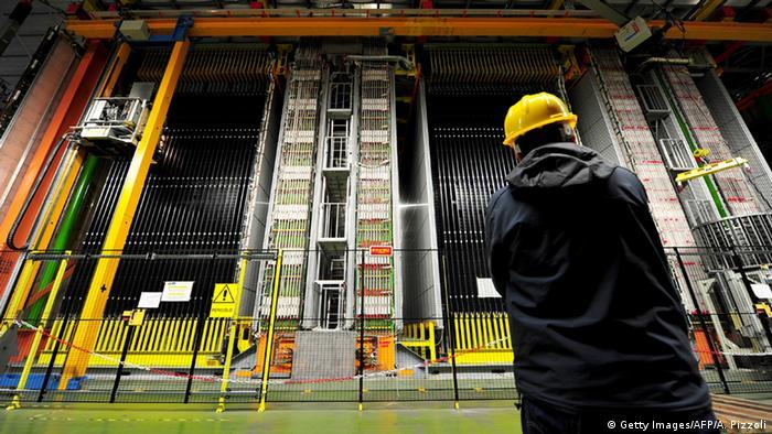 Detector de neutrinos del CERN.