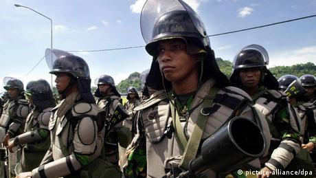 West Papua Indonesische Soldaten
