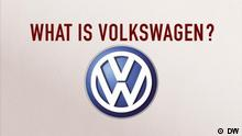 06.10.2015 DW TV Made In Germany MIG VW englisch