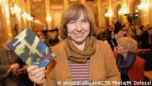 Swetlana Alexijewitsch Autorin aus Weißrussland