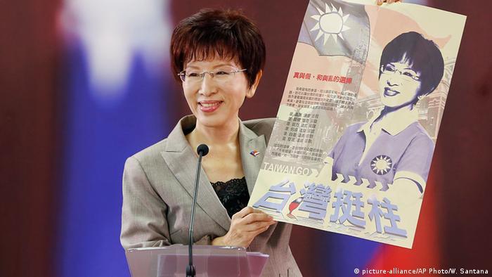 Taiwan Kandidatin Nationalist Party Hung Hsiu-chu