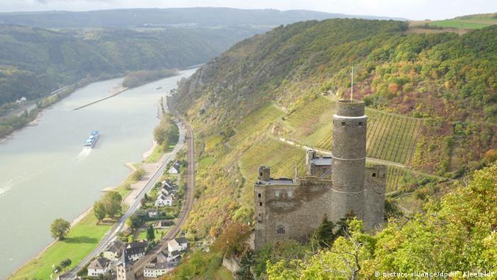 Bildergalerie Weinlandschaften in Deutschland - Mittelrhein Burg Maus