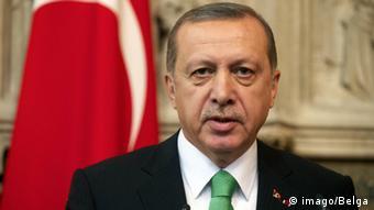 Belgien, Recep Tayyip Erdogan in Brüssel