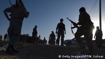 Soldaten der afghanischen Armee in Kundus