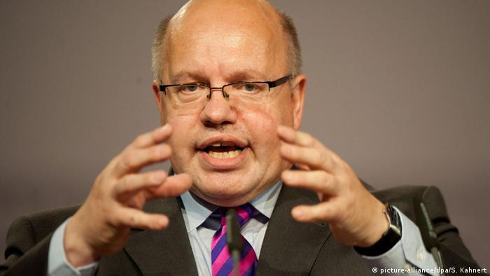 German CDU politician Peter Altmaier (picture-alliance/dpa/S. Kahnert)
