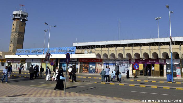 Jemen Sanaa Flughafen
