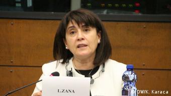 Straßburg EP Leyla Zana