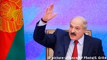 Alexander Lukaschenko Präsident Weissrussland