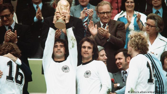 Bildergalerie Gerd Müller Fußball WM 1974 Deutschland