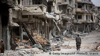 Syrien Homs Zerstörung Stadt Krieg