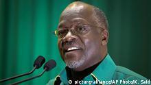 Tansania Wahlen John Pombe Magufuli