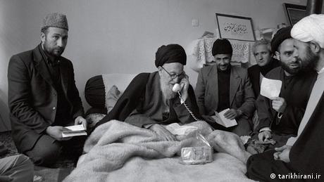 Bildergalerie Iranische Politiker Sayed Mohammad Kazem Shariatmadari (tarikhirani.ir)