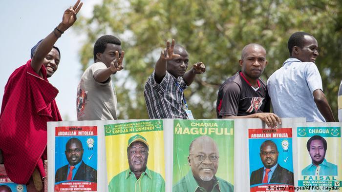 Tansania Wahlkampf