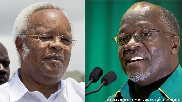John Magufuli and Edward Lowassa